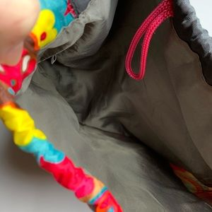 Accessories - Colorful Cinch Bag Backpack Pool Gym Camp School